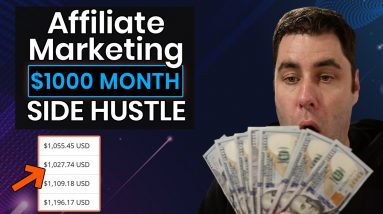 How To Make $1000 Per Month For FREE With This Affiliate Marketing Side Hustle! (2021)