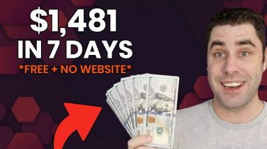 How To Make Money Online For FREE In 2021 With NO Website! (Setup In 15 Minutes)