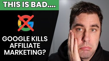 Google Just Killed My Affiliate Marketing Website | HOW TO FIX IT!